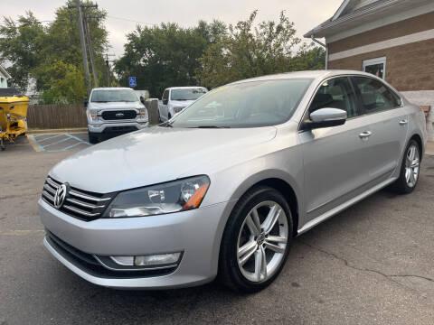 2013 Volkswagen Passat for sale at A 1 Motors in Monroe MI