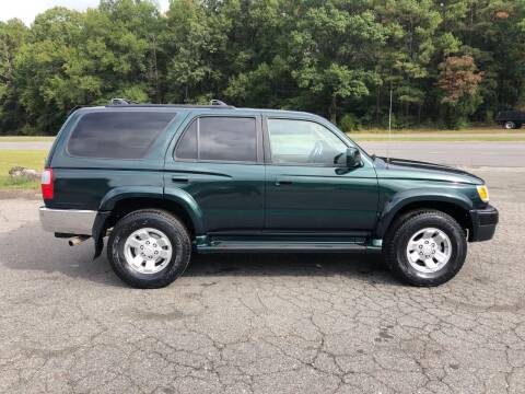 2000 Toyota 4Runner for sale at CVC AUTO SALES in Durham NC