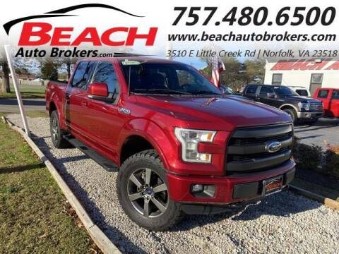2016 Ford F-150 for sale at Beach Auto Brokers in Norfolk VA