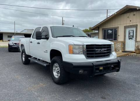 2010 GMC Sierra 2500HD for sale at The Trading Post in San Marcos TX