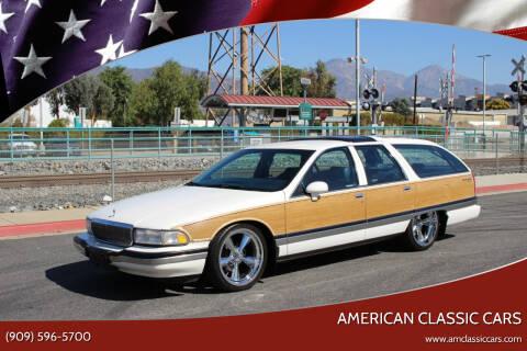 1992 Buick Roadmaster for sale at American Classic Cars in La Verne CA