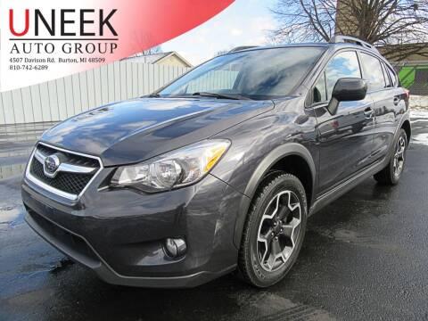 2014 Subaru XV Crosstrek for sale at Uneek Auto Group LLC in Burton MI