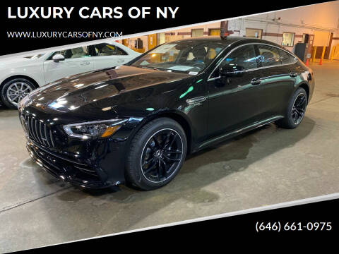 2021 Mercedes-Benz AMG GT for sale at LUXURY CARS OF NY in Queens NY