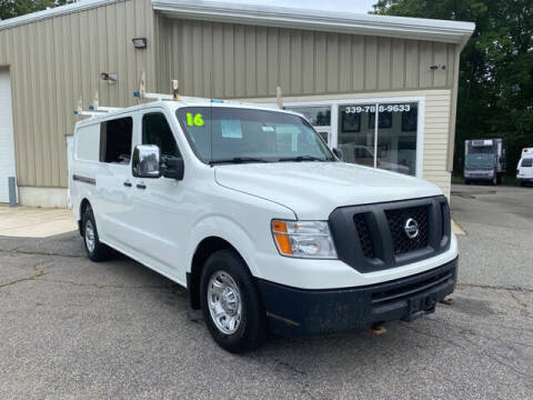 2016 Nissan NV Cargo for sale at Auto Towne in Abington MA