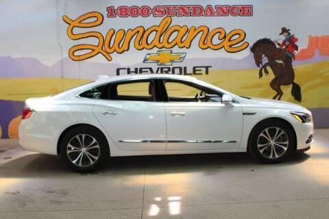 2018 Buick LaCrosse for sale at Sundance Chevrolet in Grand Ledge MI