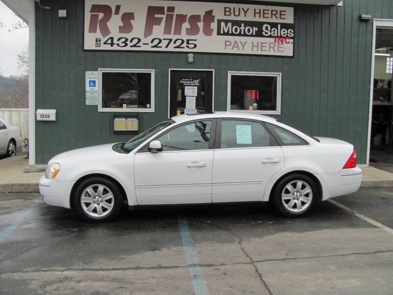 2006 Ford Five Hundred for sale at R's First Motor Sales Inc in Cambridge OH