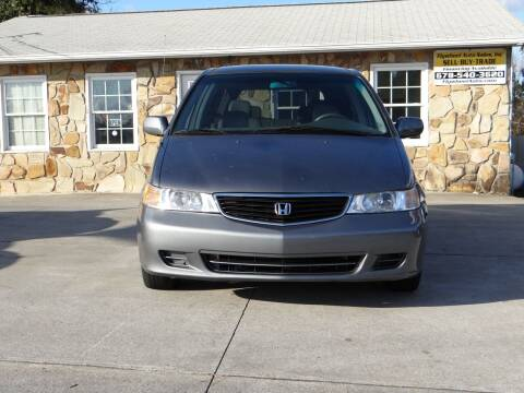 2001 Honda Odyssey for sale at Flywheel Auto Sales Inc in Woodstock GA