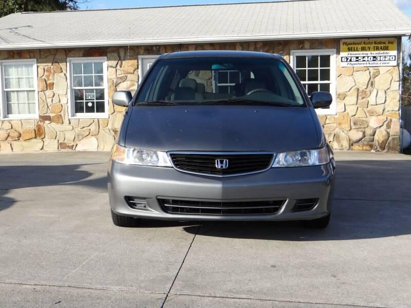2001 Honda Odyssey for sale at Flywheel Auto Sales Inc in Woodstock GA
