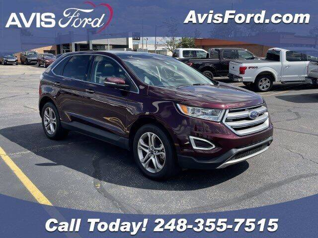 2018 Ford Edge for sale at Work With Me Dave in Southfield MI