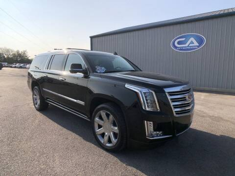 2017 Cadillac Escalade ESV for sale at City Auto in Murfreesboro TN