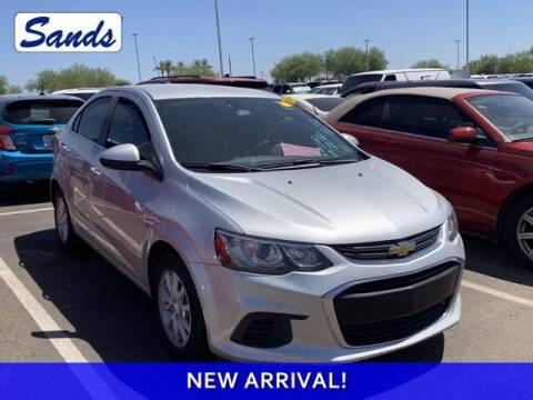 2017 Chevrolet Sonic for sale at Sands Chevrolet in Surprise AZ
