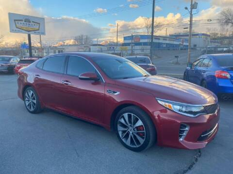 2016 Kia Optima for sale at CarSmart Auto Group in Murray UT