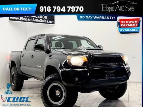 2015 Toyota Tacoma for sale at Elegant Auto Sales in Rancho Cordova CA