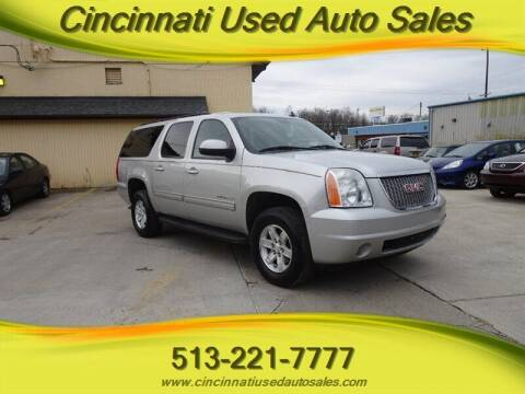 2011 GMC Yukon XL for sale at Cincinnati Used Auto Sales in Cincinnati OH