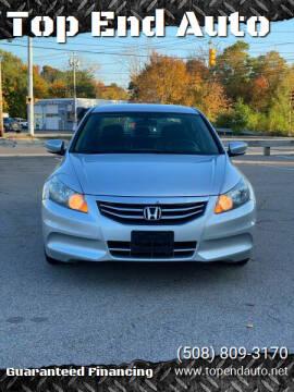 2012 Honda Accord for sale at Top End Auto in North Atteboro MA