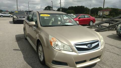 2010 Subaru Legacy for sale at Kelly & Kelly Supermarket of Cars in Fayetteville NC