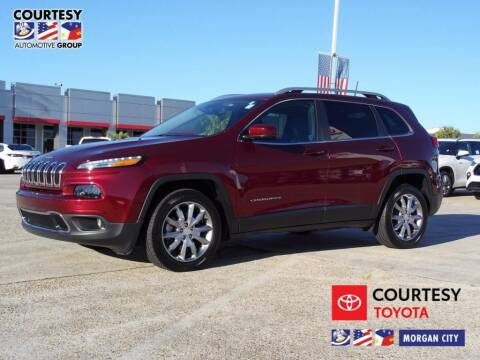 2018 Jeep Cherokee for sale at Courtesy Toyota & Ford in Morgan City LA