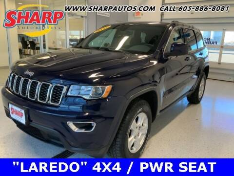 2017 Jeep Grand Cherokee for sale at Sharp Automotive in Watertown SD