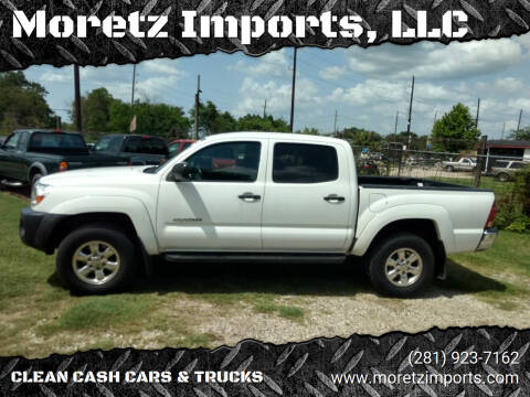 2006 Toyota Tacoma for sale at Moretz Imports, LLC in Spring TX