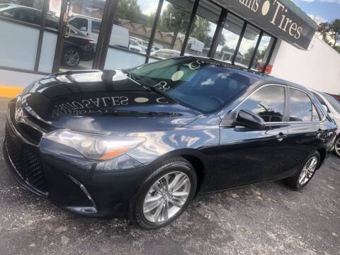 2017 Toyota Camry for sale at WHEEL UNIK AUTOMOTIVE & ACCESSORIES INC in Orlando FL
