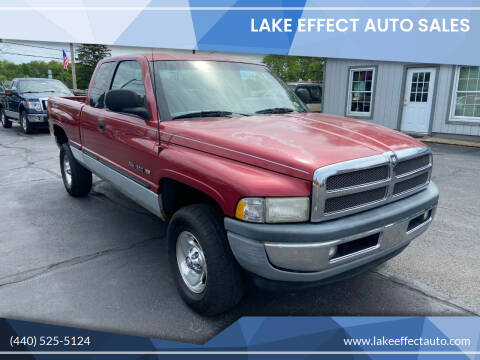 1998 Dodge Ram Pickup 1500 for sale at Lake Effect Auto Sales in Chardon OH