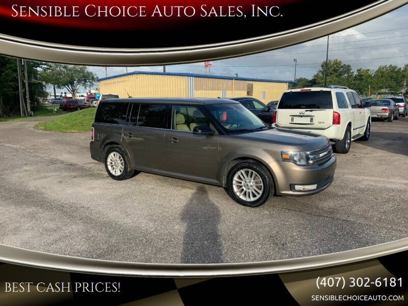 2013 Ford Flex for sale at Sensible Choice Auto Sales, Inc. in Longwood FL