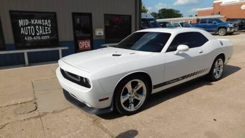 2012 Dodge Challenger for sale at Mid Kansas Auto Sales in Pratt KS