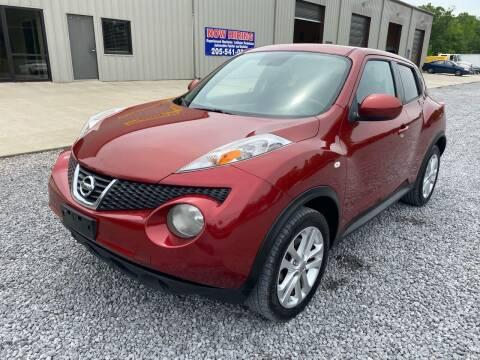 2012 Nissan JUKE for sale at Alpha Automotive in Odenville AL