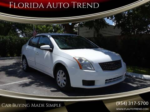 2007 Nissan Sentra for sale at Florida Auto Trend in Plantation FL