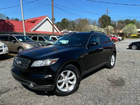 2005 Infiniti FX35 for sale at Car Online in Roswell GA