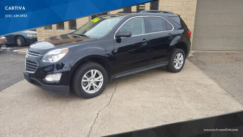 2017 Chevrolet Equinox for sale at CARTIVA in Stillwater MN