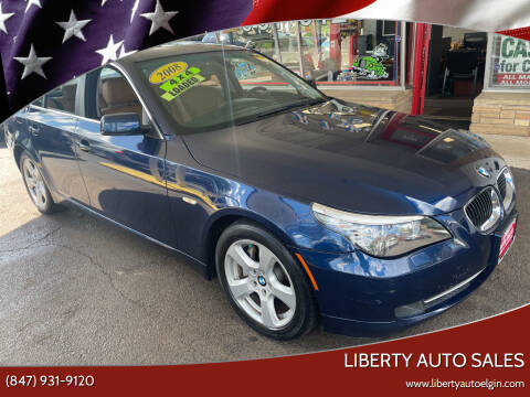 2008 BMW 5 Series for sale at Liberty Auto Sales in Elgin IL