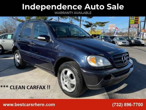 2004 Mercedes-Benz M-Class for sale at Independence Auto Sale in Bordentown NJ