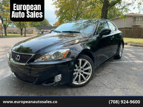 2006 Lexus IS 250 for sale at European Auto Sales in Bridgeview IL
