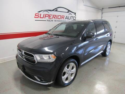 2014 Dodge Durango for sale at Superior Auto Sales in New Windsor NY