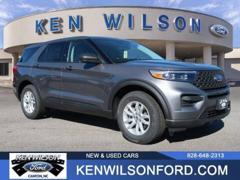 2021 Ford Explorer for sale at Ken Wilson Ford in Canton NC