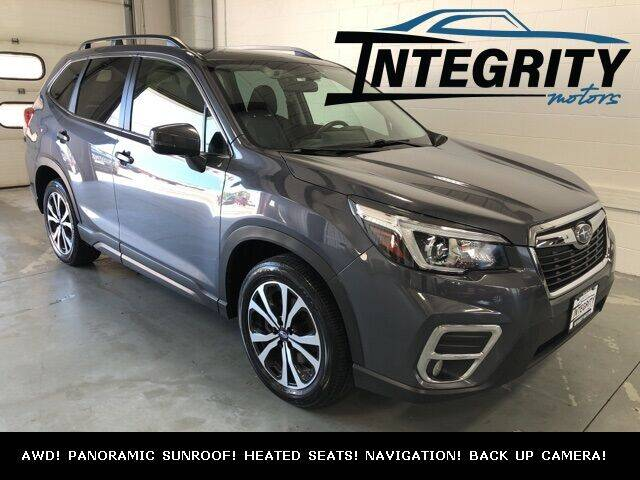 2020 Subaru Forester for sale at Integrity Motors, Inc. in Fond Du Lac WI