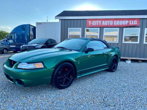 1999 Ford Mustang SVT Cobra for sale at Y City Auto Group in Zanesville OH