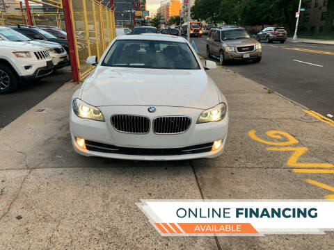 2013 BMW 5 Series for sale at Raceway Motors Inc in Brooklyn NY
