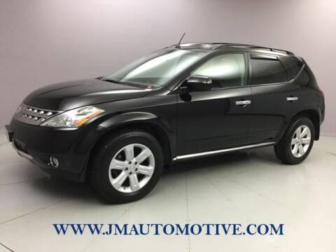 2007 Nissan Murano for sale at J & M Automotive in Naugatuck CT