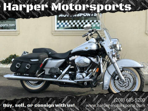 2003 Harley-Davidson Road King Classic for sale at Harper Motorsports-Powersports in Post Falls ID