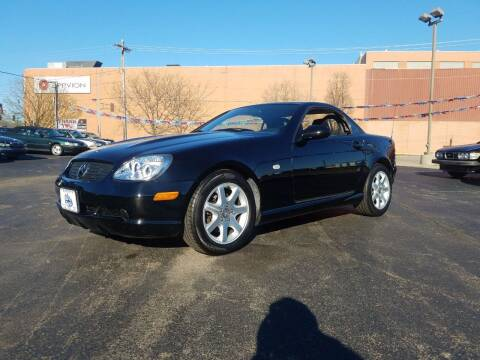2000 Mercedes-Benz SLK for sale at THE AUTO SHOP ltd in Appleton WI