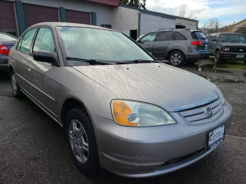 2002 Honda Civic for sale at Universal Auto Sales in Salem OR