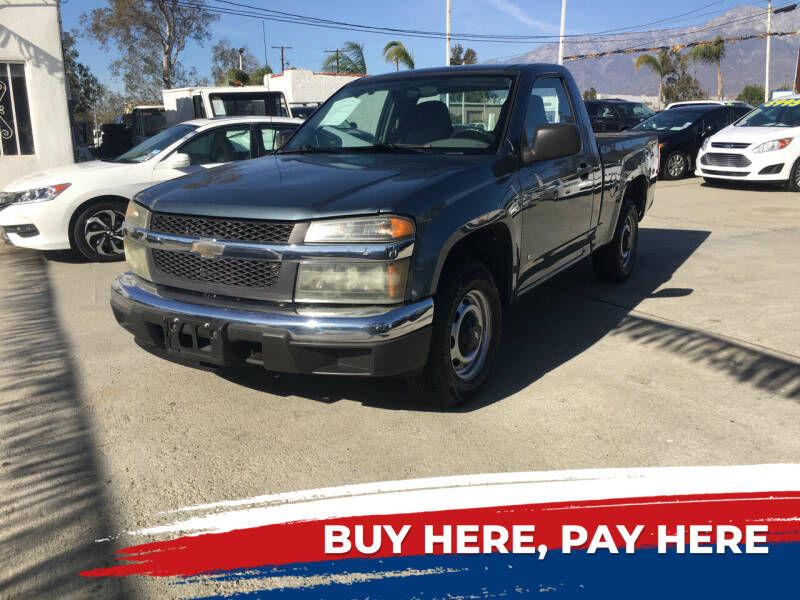 2007 Chevrolet Colorado for sale at CALIFORNIA AUTO FINANCE GROUP in Fontana CA