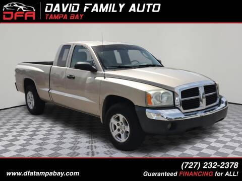 2005 Dodge Dakota for sale at David Family Auto, Inc. in New Port Richey FL