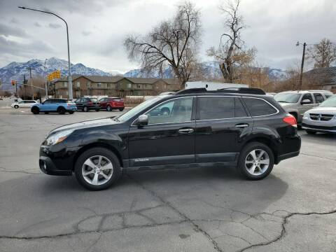 2013 Subaru Outback for sale at UTAH AUTO EXCHANGE INC in Midvale UT