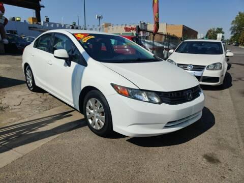 2012 Honda Civic for sale at Sanaa Auto Sales LLC in Denver CO