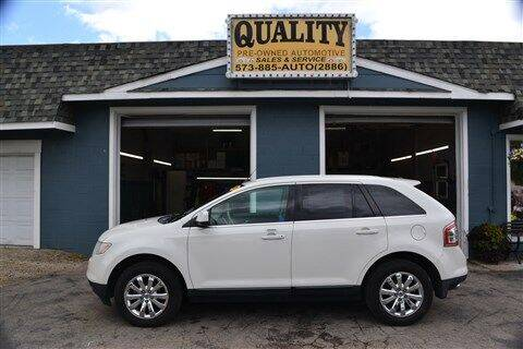2009 Ford Edge for sale at Quality Pre-Owned Automotive in Cuba MO