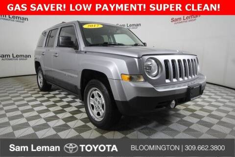 2017 Jeep Patriot for sale at Sam Leman Toyota Bloomington in Bloomington IL