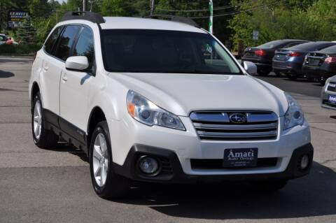 2013 Subaru Outback for sale at Amati Auto Group in Hooksett NH